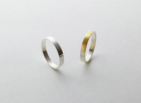 #ياباني صمم خاتم ذهبي لكنه مطلي بطبقة فضية تتحول للذهبي مع السنوات،