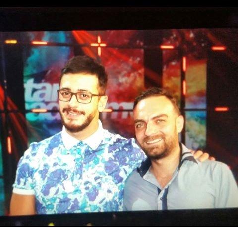 صورة طوني و #سعد_المجرد في كواليس #ستار_اكاديمي #خلي_نجمك_يلمع