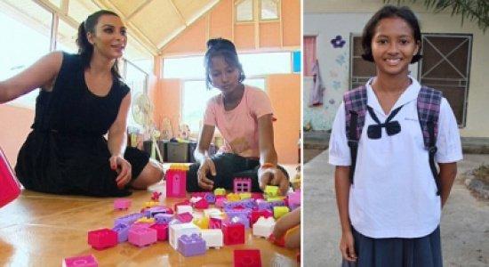 فتاة تايلندية تفضل الفقر على أن تتبناها #كيم_كارداشيان