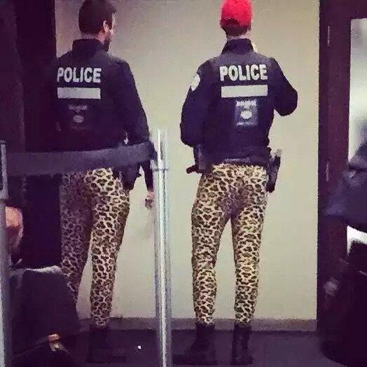 شرطة مونتريال تعترض على وضعها لكن بطريقة غريبة