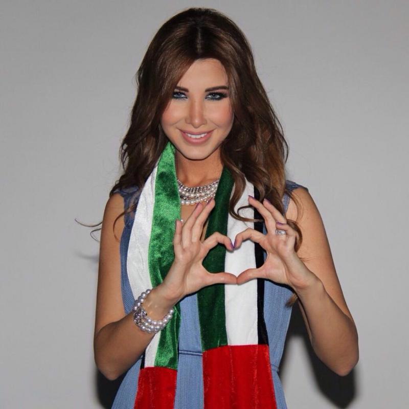 نانسي عجرم تهنىء الإمارات بعيد الانحاد بطريقتها الخاصة #مشاهير