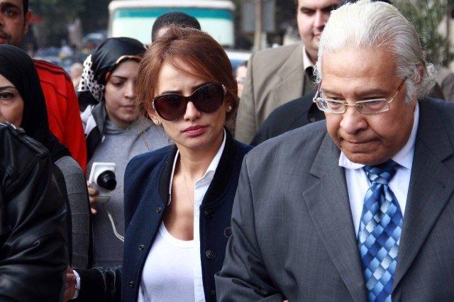 صورة #زينة بعد خروجها من مصلحة الطب الشرعي #مشاهير
