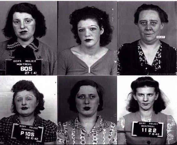 فتيات الليل في كندا عام ١٩٤٠، أموت واعرف مين كان يدفع؟