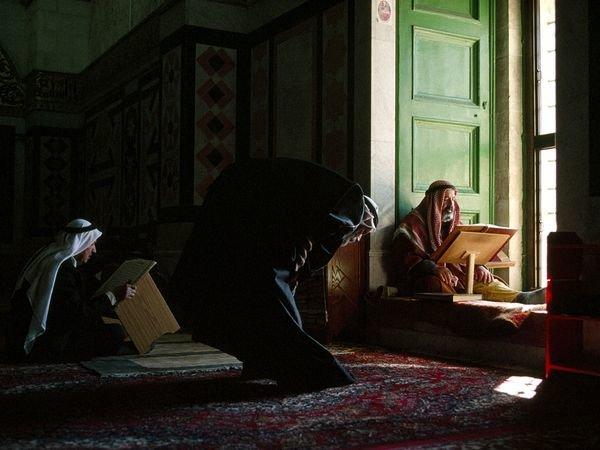 صورة #قديمة من داخل المسجد الأقصى في #القدس #فلسطين