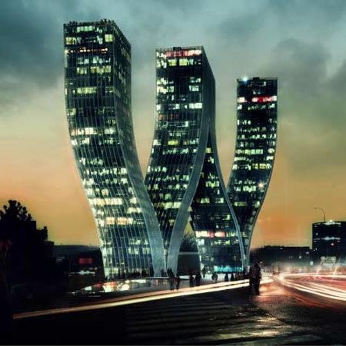 عندما يبدع الانسان بالعمارة