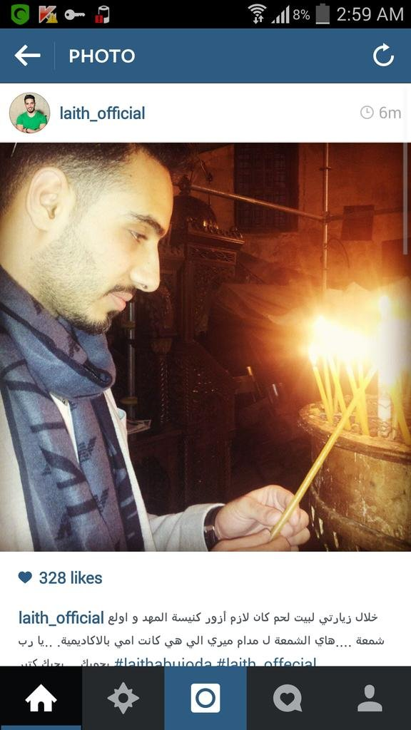 #ليث_ابو_جودة يشعل شمعة في #كنيسة_المهد لمدام ميري #ستار_اكاديمي #خلي_نجمك_يلمع #StaracArabia #LaithAbuJoda