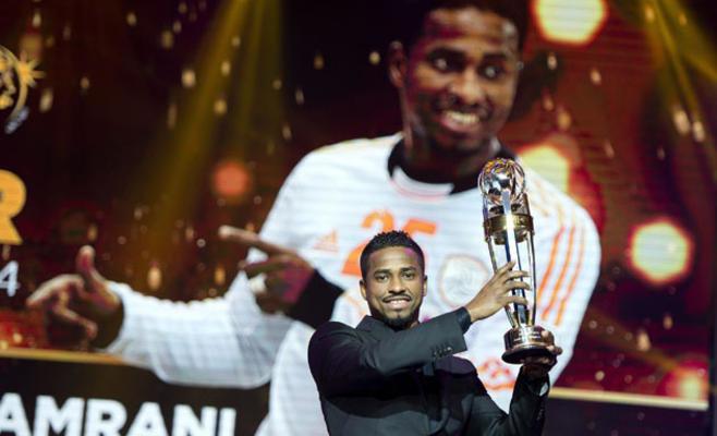 #الشمراني يفوز بجائزة افضل لاعب كرة في #آسيا #الهلال_السعودي
