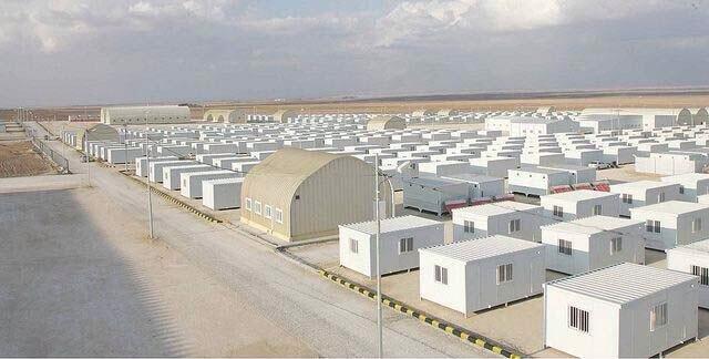 #الإمارات تستبدل خيم اللاجئين بكرافانات في الزعتري