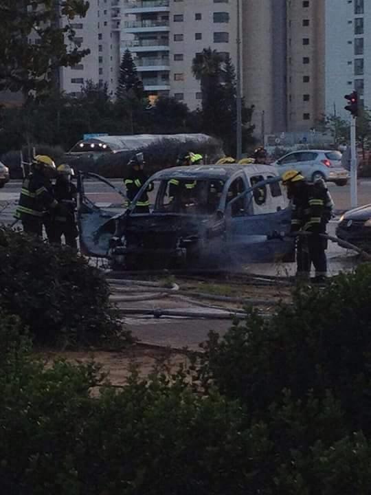 إنفجار سيارة مفخخة في أحد ضواحي (تل أبيب) يسفر عن إصابة 18 مستوطن أحدهم بحالة الخطر