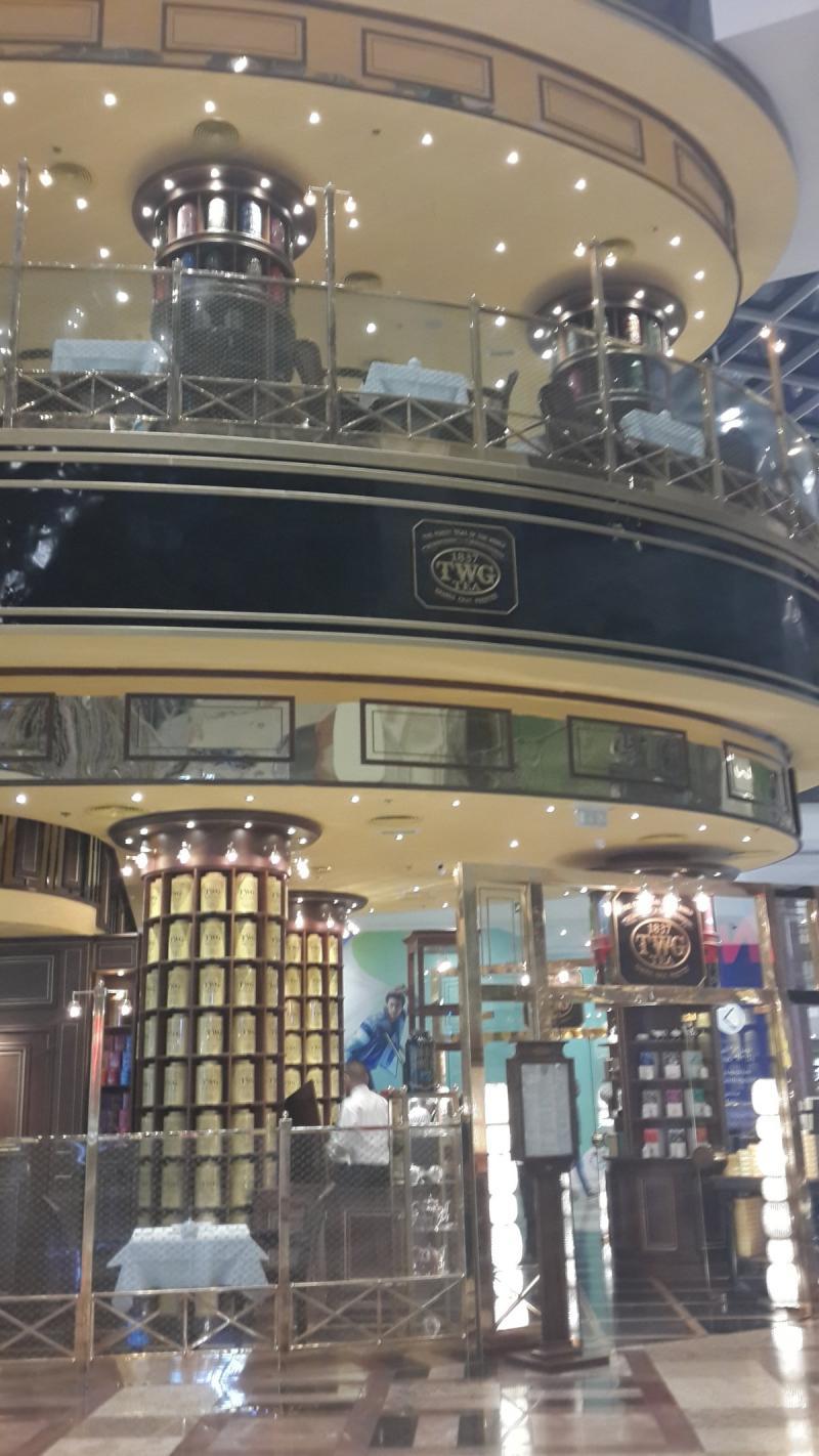 TWG Tea Cafe #Dubai Festival City Center