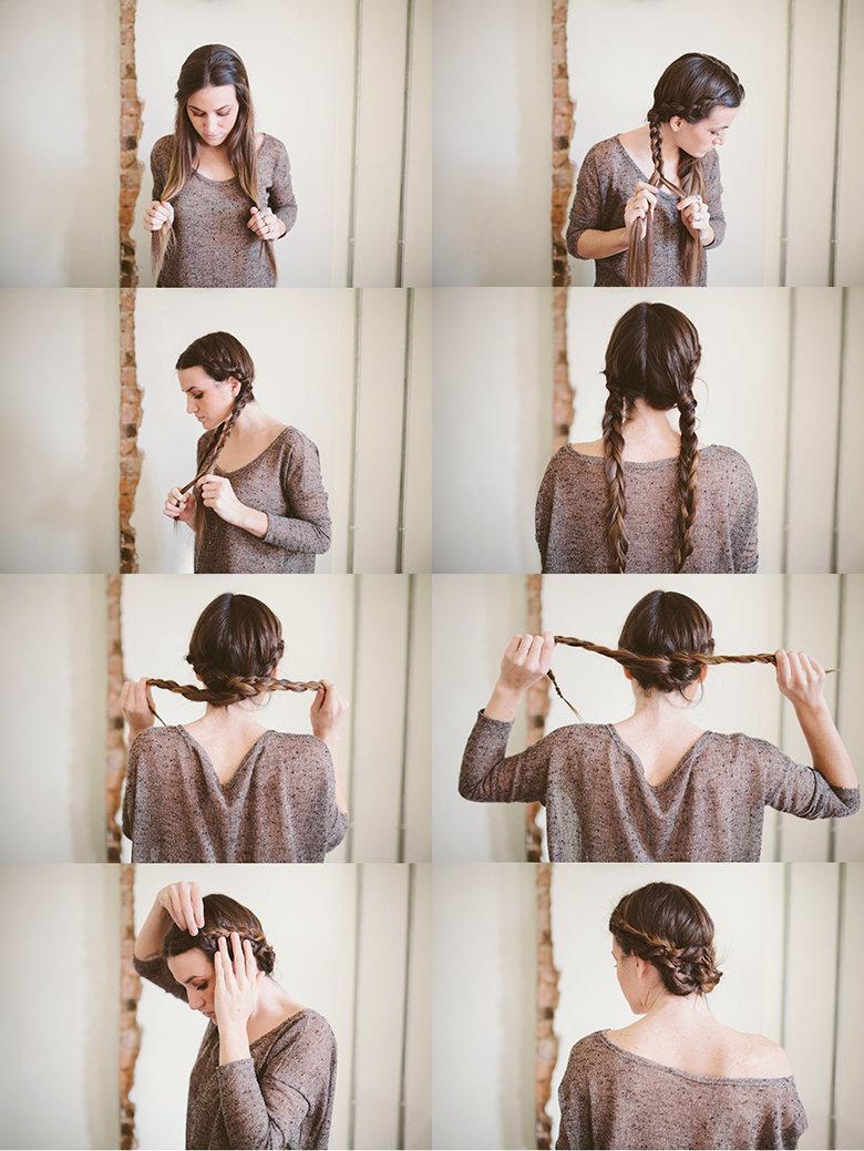 طرق عمل تسريحات شعر يومية لإطلالة ميزة #شعر#تسريحات رقم 6