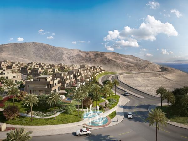 في قرية الراحة، تتعدد المناظر المحيطة بك بين جبال #العقبة الشامخة وزرقة مياه البحر الأحمر الخلابة. #الأردن #JO