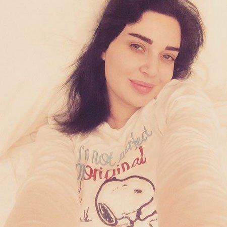 #مشاهير - هكذا بدت سيرين عبد النور بدون #مكياج عند استيقاظها من النوم!