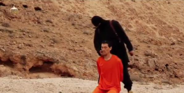 صوره متداولة: إعدام الرهينة #الياباني الثاني الصحفي #كينجي_جوتو #داعش صوره رقم 4