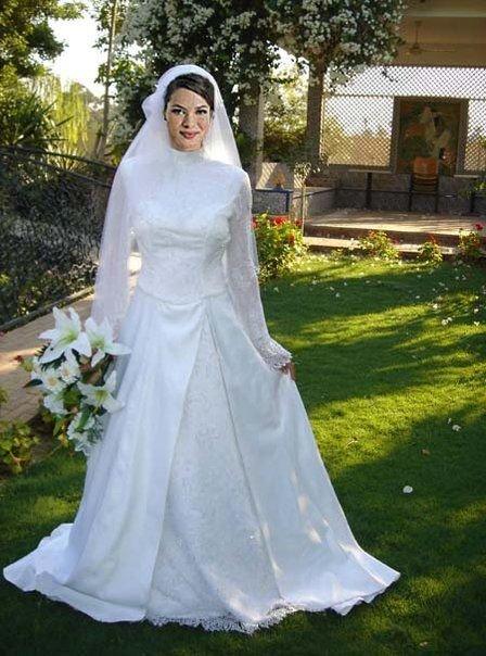 احدث موضة #صور #فساتين #زفاف #للمحجبات 2015 صوره رقم 22