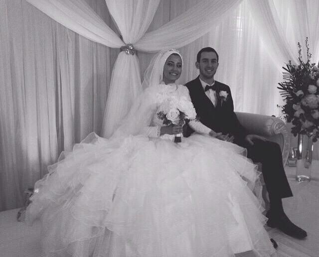 صورة من حفل زفاف يسر وضياء رحمهما الله - 21 عام - #ChapelHillShooting
