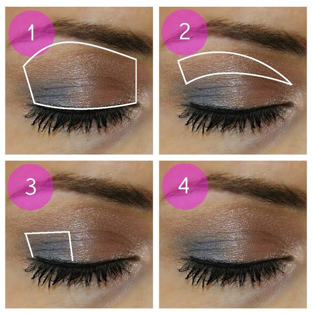 طريقة رسم #مكياج مبهر للعيون #مكياج صوره رقم 1