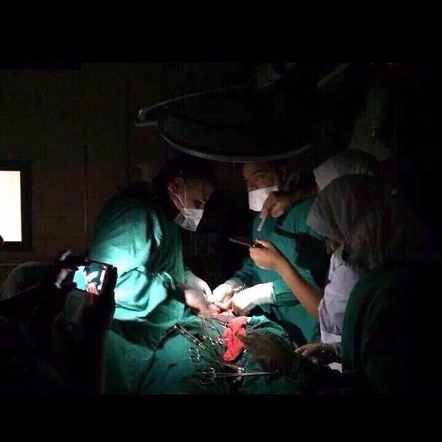 صورة متداولة ﻹحدی المستشفيات في #الكويت #انقطاع_الكهرباء_بالكويت #انقطاع_الكهرباء