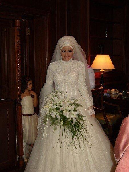 احدث موضة #صور #فساتين #زفاف #للمحجبات 2015 صوره رقم23