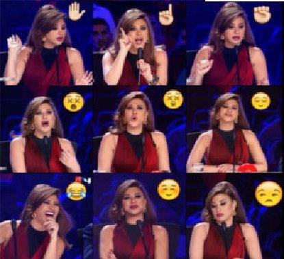 الجديد #نجوى_كرم في Emojis # #مشاهير #ArabsGotTalent صوره رقم 1