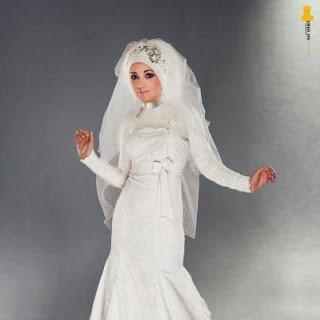 احدث موضة #صور #فساتين #زفاف #للمحجبات 2015 صوره رقم 38