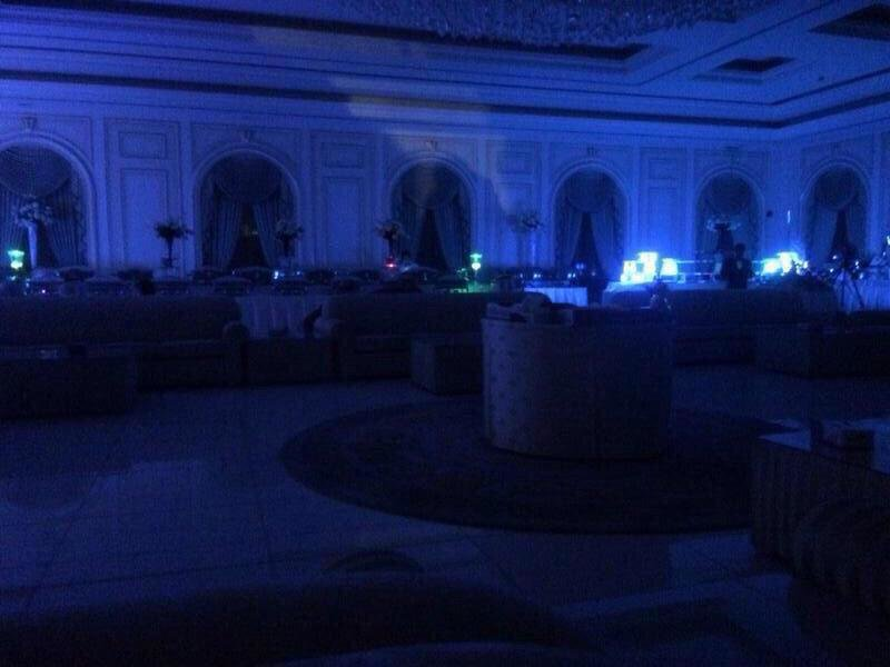 صورة متداولة لصالة أفراح في #الكويت #انقطاع_الكهرباء_بالكويت #انقطاع_الكهرباء