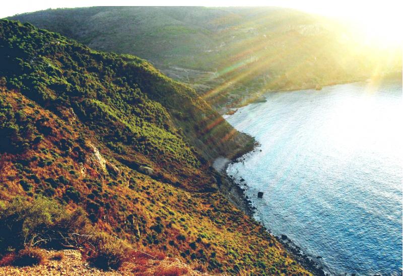 طلة بحرية من قرية سيدنا يوشع - تلمسان - الجزائر