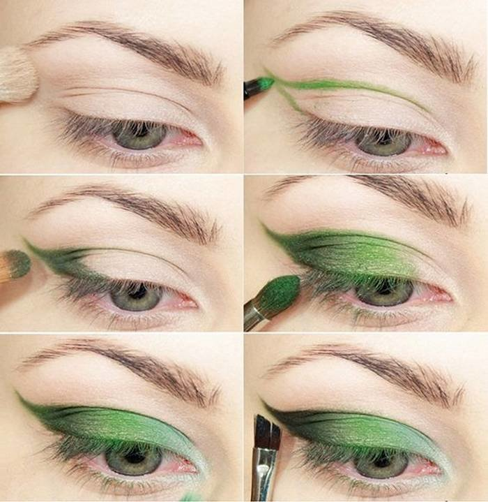 طريقة رسم #مكياج مبهر للعيون #مكياج صوره رقم 14