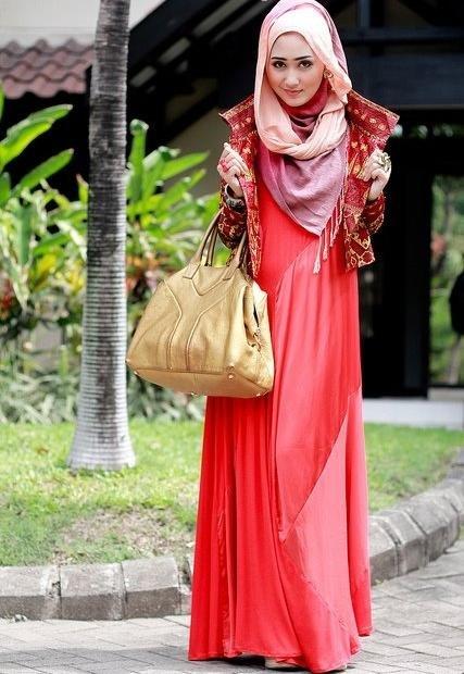 #ازياء #محجبات 2015 موضة #حجاب جديدة ستايل صوره رقم 4