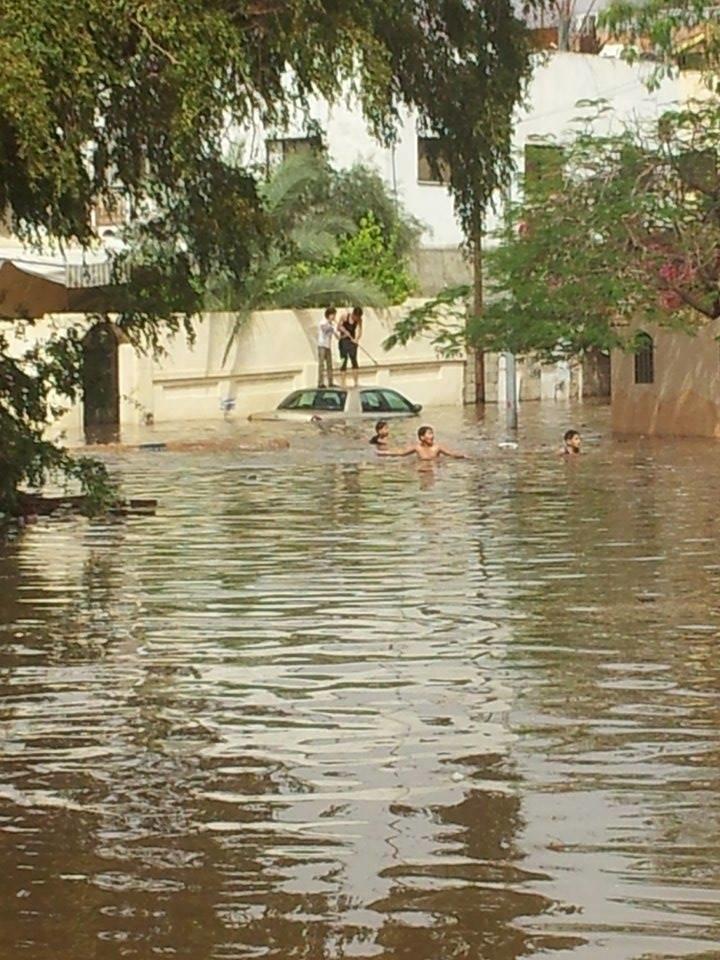 أمطار غزيرة اليوم في #العقبة صوره 5
