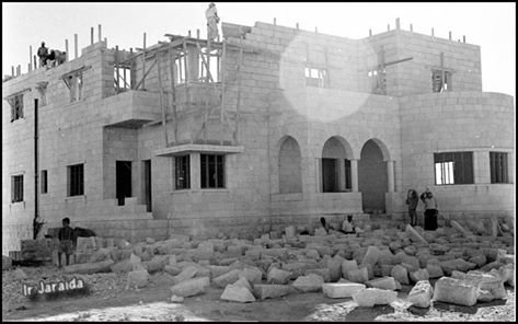 بداية البناء الحديث في #عمان في الخمسينيات #الاردن