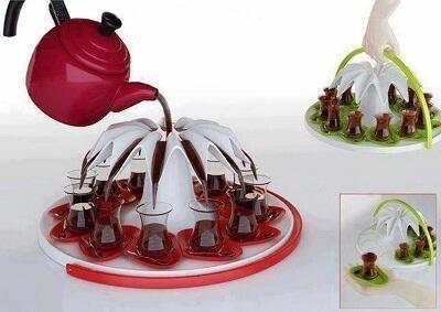 اختراع بسيط لسكب الشاي
