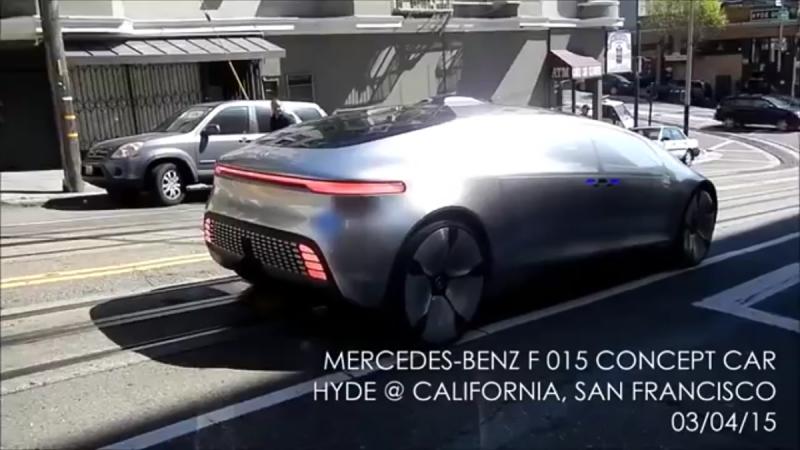 مرسيدس تطلق سيارة F015 ذاتية الحركة في كاليفورنيا - صورة ١