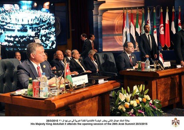 جلالة الملك عبدالله الثاني يشارك في #القمة_العربية في دورتها السادسة والعشرين في شرم الشيخ #الأردن