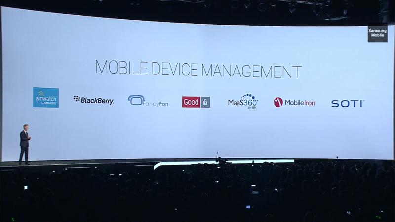 شركاء #سامسونج بال MDM او Mobile Device Management #UnPacked