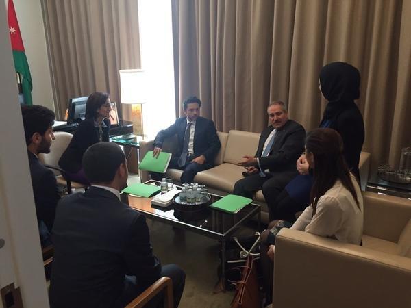 سمو الامير الحسين يترأس يوم جلسة بعنوان صون السلام والأمن الدوليين #AlHusseinUNSC #الحسين_في_مجلس_الأمن