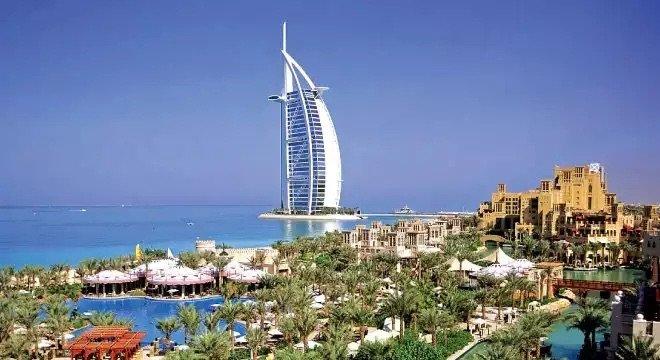 برج العرب في #دبي