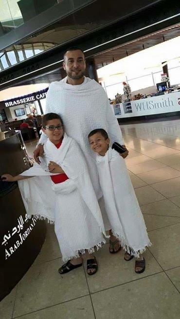 #عامر_شفيع ووصوله للسعودية لتأدية مناسك العمرة الله يتقبل يا رب #عامر_شفيع #الوحدات