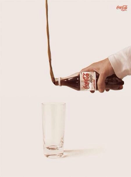 إعلان مبدع لCocacola Diet #تسويق