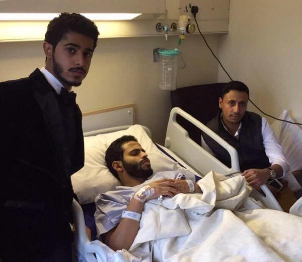 اجرى لاعب النصر #احمد_الفريدي قبل قليل عملية جراحية لركبته في لندن#النصر #كوره