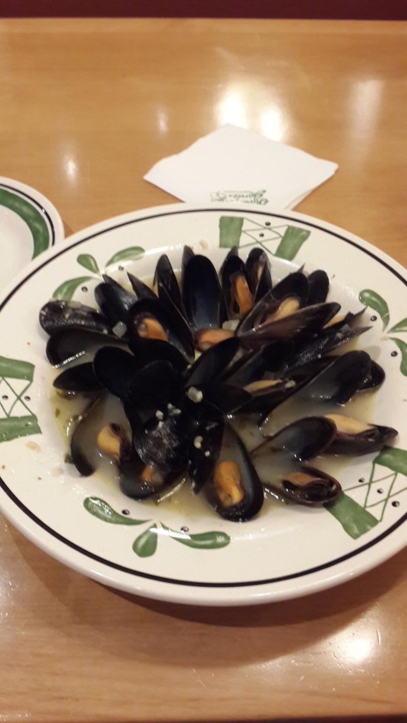 طبق المحار بالليمون من مطعم اوليف جاردين - الوحدة مول #أبوظبي