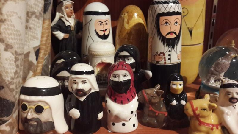 اللعبة الروسية بمجسمات محلية - السوق المركزي #أبوظبي