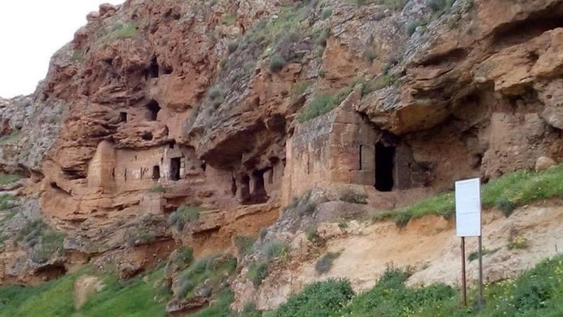 قصر البنات (مغارة مار مارون) #لبنان