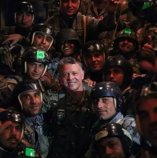 أكثر الصور انتشارا لجلالة #الملك_عبدالله الثاني ملك #الأردن - صورة ٩