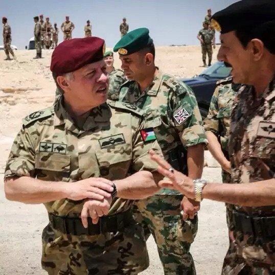 أكثر الصور انتشارا لجلالة #الملك_عبدالله الثاني ملك #الأردن - صورة ٨