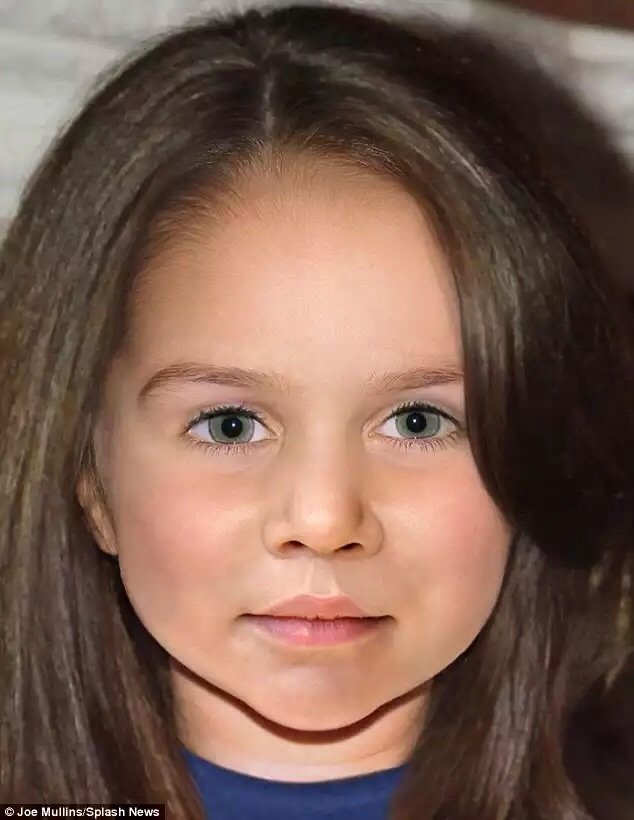 كيف سيكون شكل الأميرة تشارلوت عندما تكبر