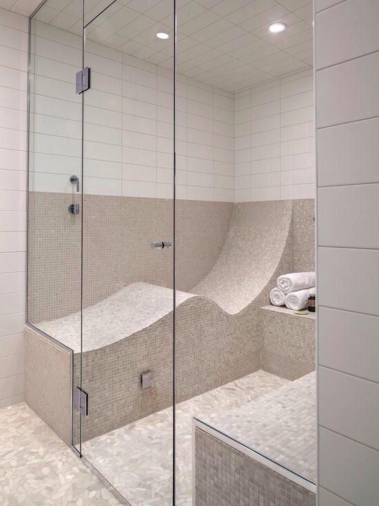 تصميم مبدع ومريح للاستحمام