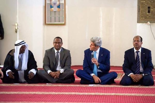 ويستمر مسلسل سماحة كيري في جيبوتي