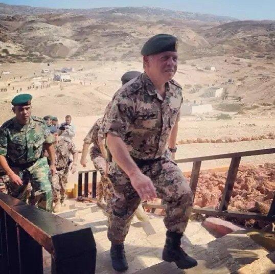 أكثر الصور انتشارا لجلالة #الملك_عبدالله الثاني ملك #الأردن - صورة ٧