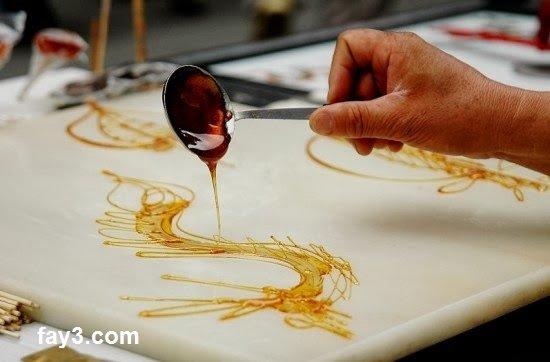 فن الرسم بالكراميل في الصين بلد العجائب صوره رقم 3